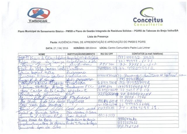 Lista de Presença - Audiência Pública_19